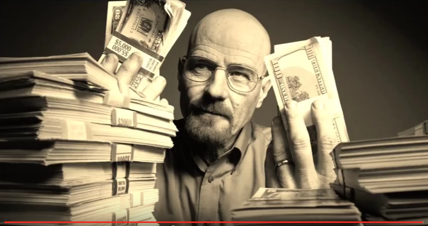 Walter white breaking bad money