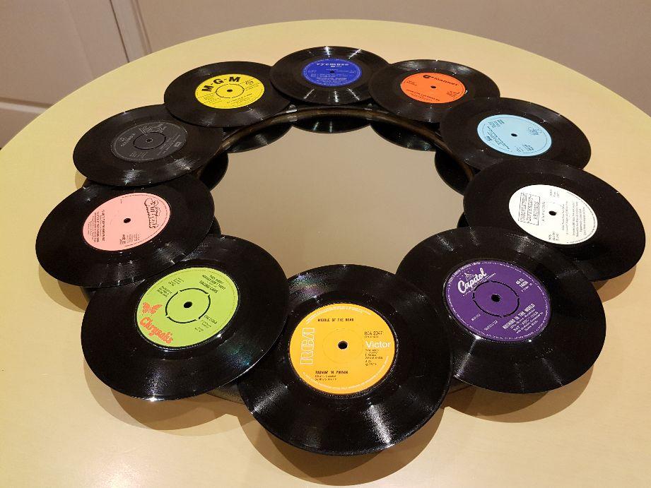 vintage vinyl record mirror wall art (8)-opt