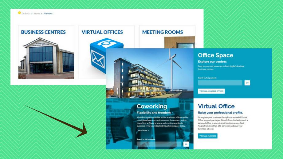workspace web design norwich